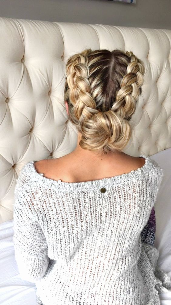 30 Amazing Braided Hairstyles For Medium Long Hair Delightful