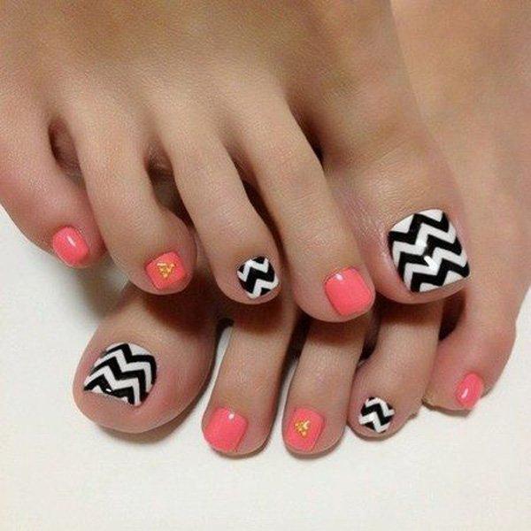 Nail art designs for toenails best nails 2018 46 cute toe nail art designs toenail ideas styles weekly prinsesfo Choice Image
