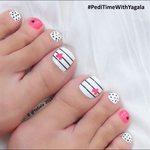 ... Cute Toe Nail Designs - Toenail Art Ideas ... - 46 Cute Toe Nail Art Designs – Toenail Art Ideas Styles Weekly