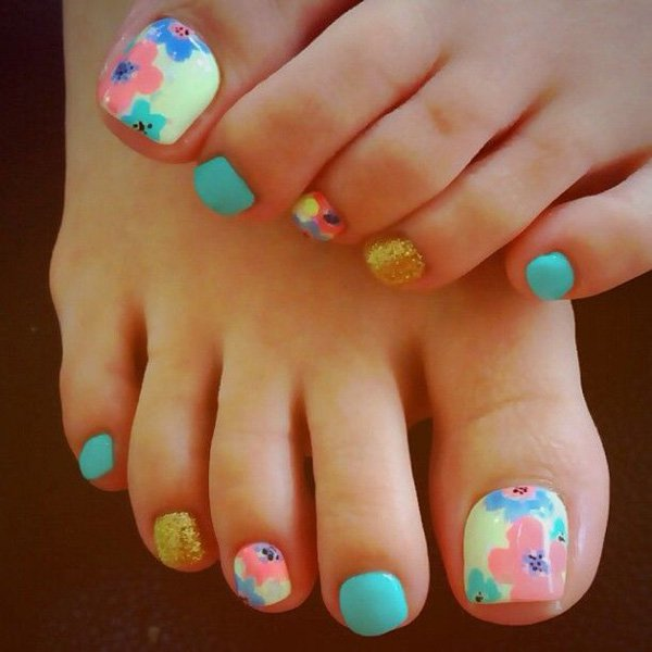46 cute toe nail art designs toenail art ideas styles weekly cute toe nail designs toenail art ideas prinsesfo Choice Image
