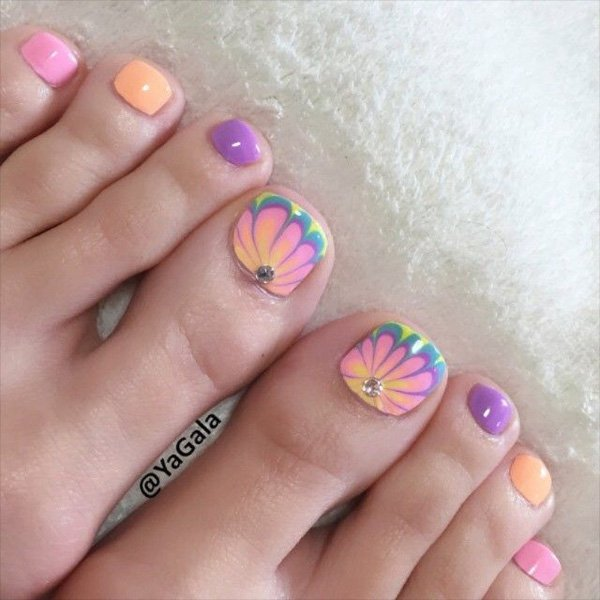 cute toe nail designs toenail art ideas - Toe Nail Designs Ideas