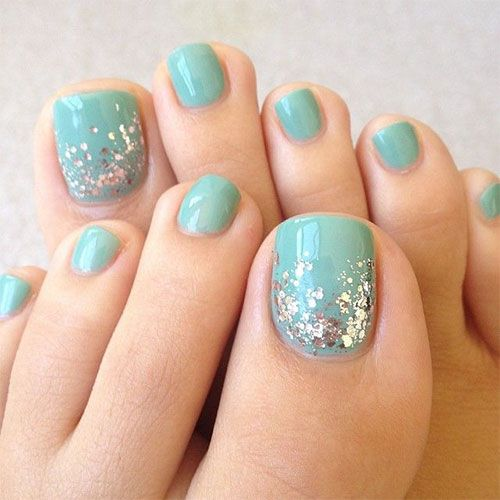 Toe Nail Designs - Toe Nail Art Ideas - 46 Cute Toe Nail Art Designs – Toenail Art Ideas Styles Weekly