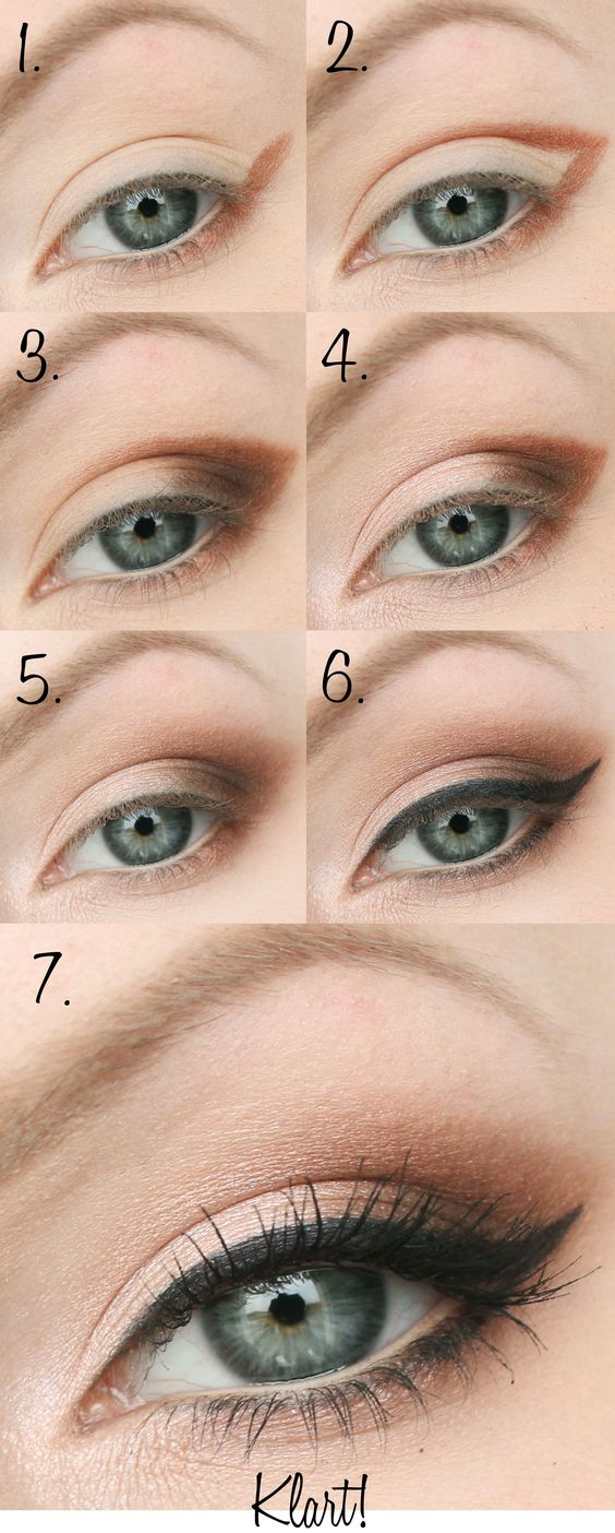 Easy Step by Step Eyeshadow Tutorials for Beginners