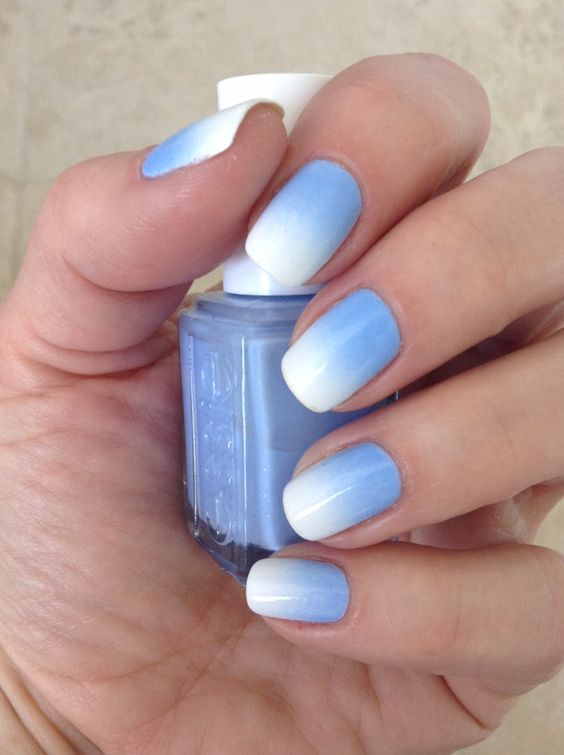 10 fabelhafte Ombre Nagel Ideen - Cute Ombre Nail Art Designs