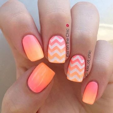 10 fabulous ombre nail ideas  cute ombre nail art designs