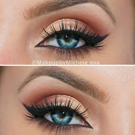 10 Makeup Looks For Blue Eyes Styles Weekly
