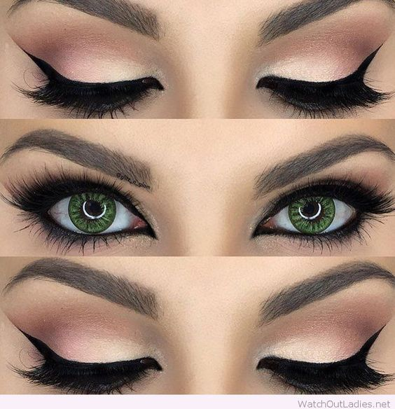 Before And After Merging Two Rooms Has Created A Super: 10 Great Eye Makeup Looks For Green Eyes