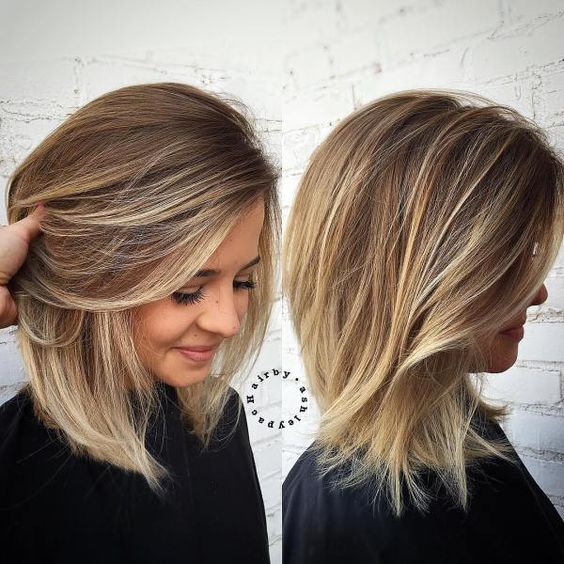 Beautiful 10 Medium Length Blonde Hairstyles