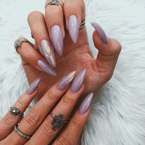 21 Stunning Chrome Nail Ideas To Rock The Latest Nail ...