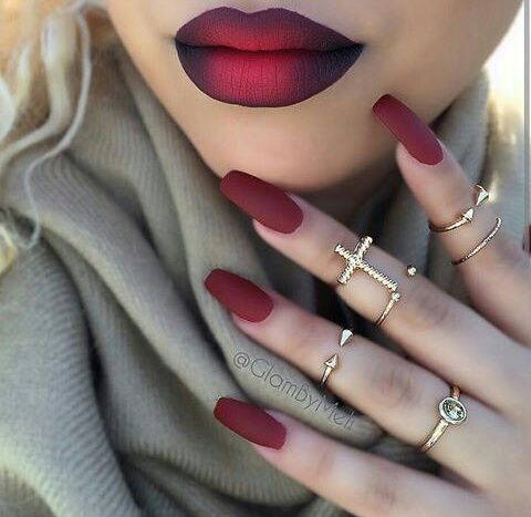 10 Ways to Work Ombre Lips