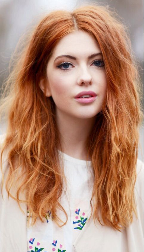 10 wonderful hairstyles for ginger hair trendy red. Black Bedroom Furniture Sets. Home Design Ideas