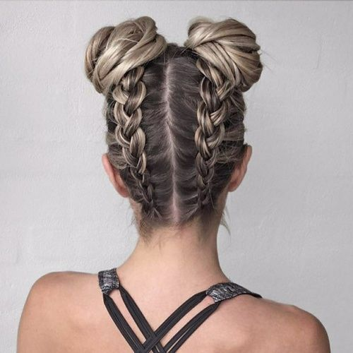 16 Super Cute Space Bun Hairstyles You Can Try This Year
