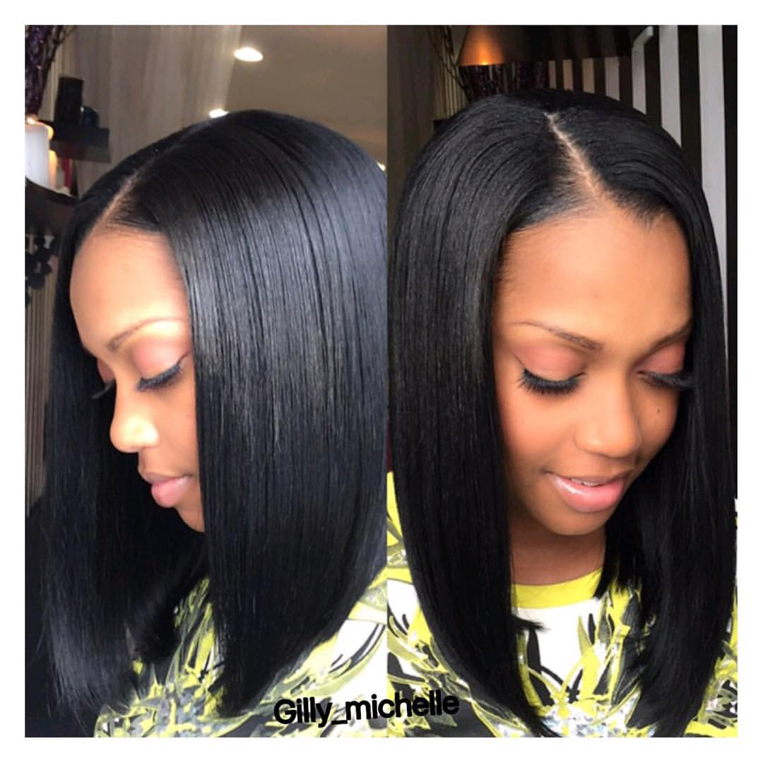 10 looks to style your center parting – middle part hairstyles