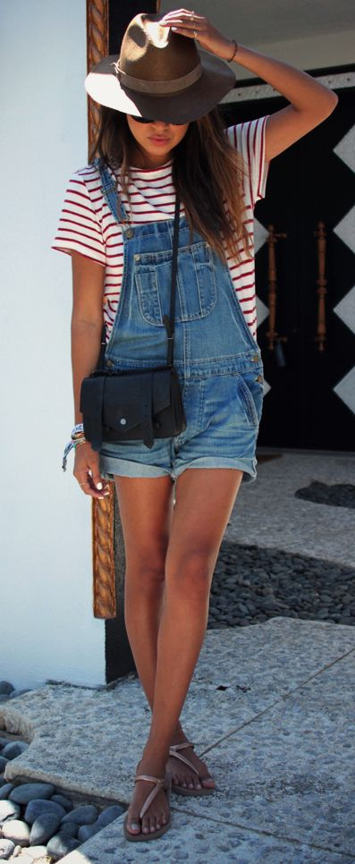 10 Best Ways to Wear Dungarees - How to Wear Dungarees This Fall