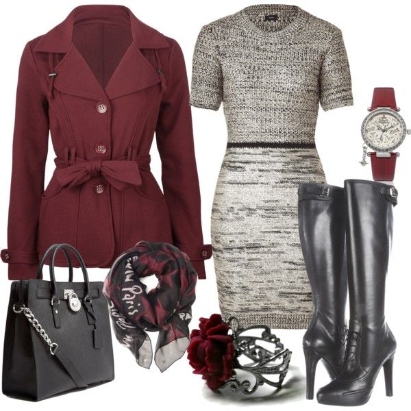 28 Beautiful Winter Dress Outfit Ideas for Winter 2018
