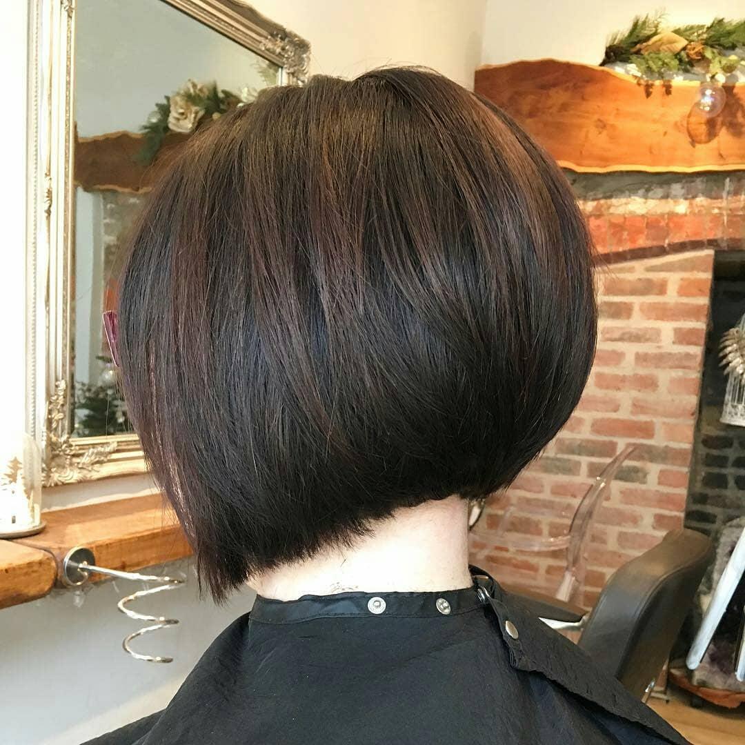 30 Super Hot Stacked Bob Haircuts