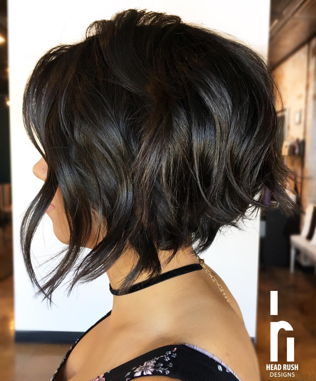 30 Super-Hot Stacked Bob Haircuts: Short Hairstyles for Women 2018