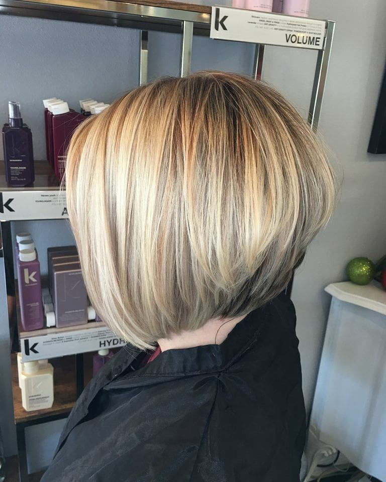 30 Super Hot Stacked Bob Haircuts Short Hairstyles For Women 2018