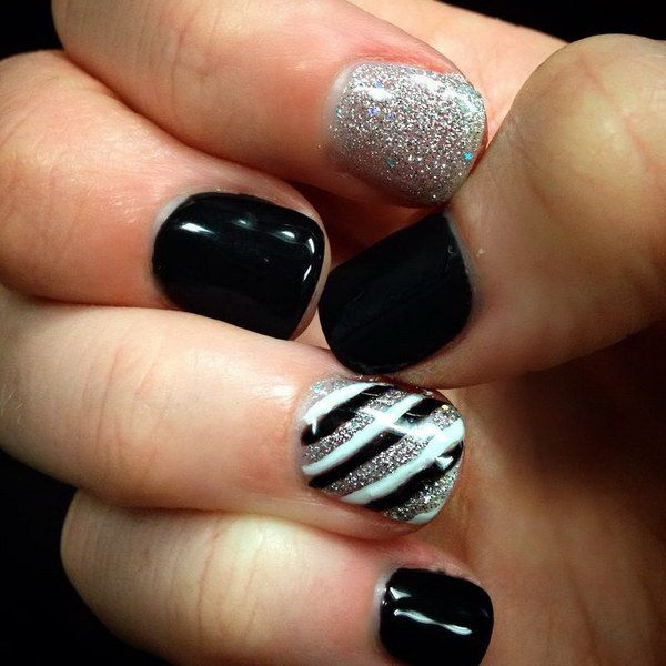 40 Easy Amazing Nail Designs For Short Nails \u2013 Nail Art