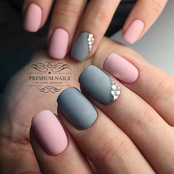 ... 40 Easy Amazing Nail Designs For Short Nails   Nail Art Ideas 2018 ...
