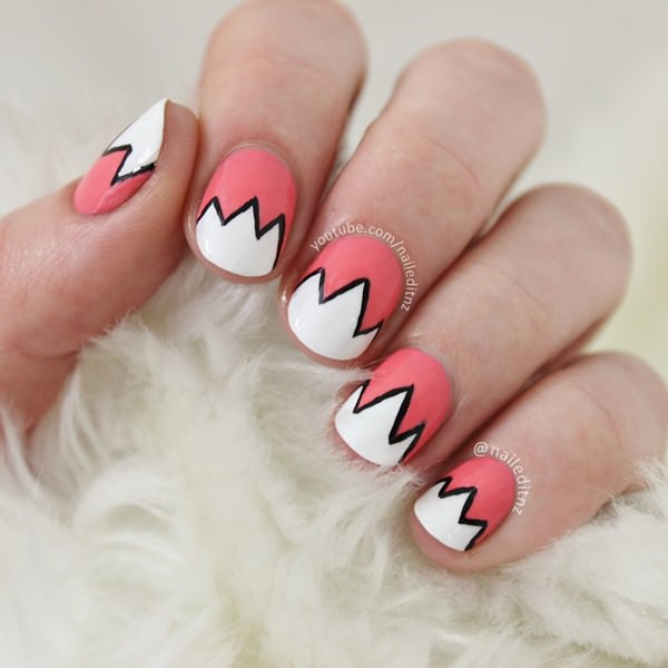 Nail Art For Short Nails Plain: 40 Easy Amazing Nail Designs For Short Nails