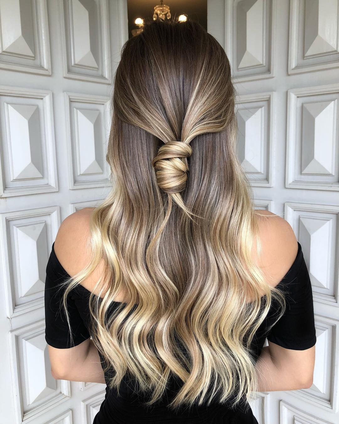 Platinum Blonde Hair Color Ideas For 2018 2019: 50 Hottest Ombre Hair Color Ideas For 2019