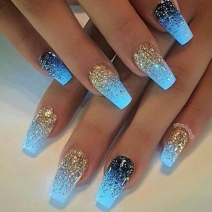 ... Trendy Easy Nail Art Ideas - Nail Art Designs & Ideas 2018 - 25 Amazing Easy Nail Art Ideas – Nail Art Designs & Ideas 2018