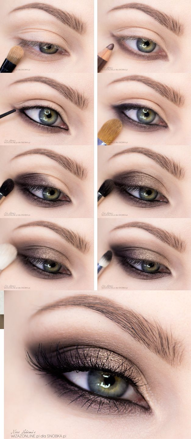 20 Easy Step By Step Smokey Eye Makeup Tutorials For
