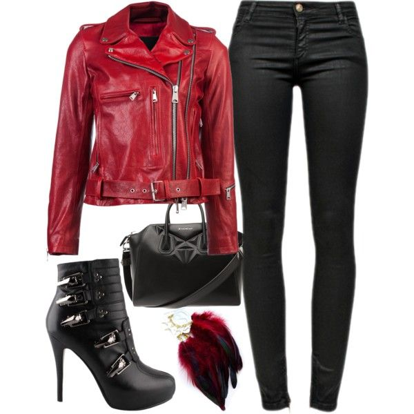 ... 25 Sexy Leather Outfit Ideas for Winter ... 8e9916729