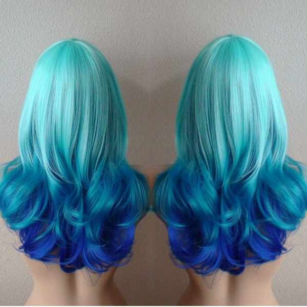 27 Trendy Blue Ombre Hairstyles for Women - Ombre Hair Ideas