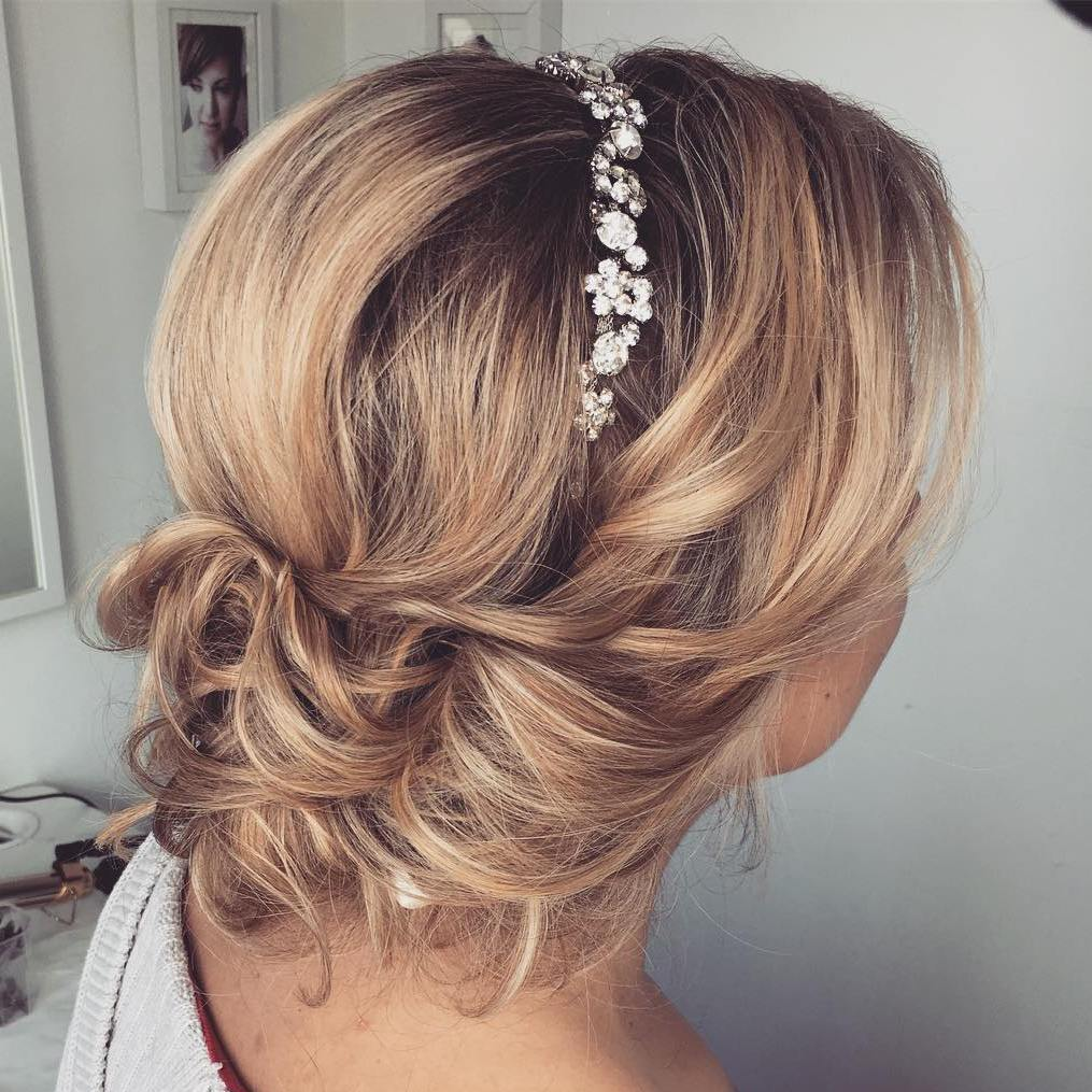 28 Prettiest Wedding Hairstyles: 30 Beautiful Wedding Hairstyles