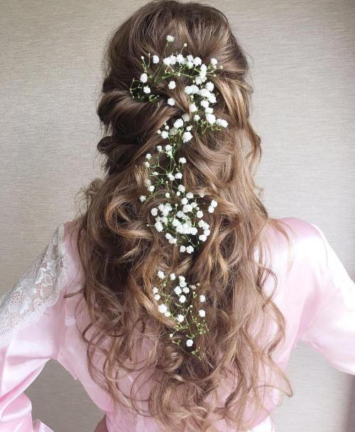 Curly Updo Hairstyles For Weddings: 30 Beautiful Wedding Hairstyles