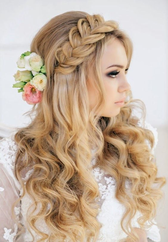 30 Beautiful Wedding Hairstyles Romantic Bridal