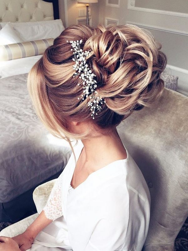 hair up styles wedding 30 beautiful wedding hairstyles bridal 8958