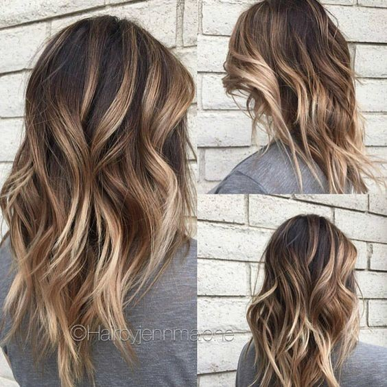 30 Cute Daily Medium Hairstyles 2018 - Easy Shoulder Length Hair Ideas