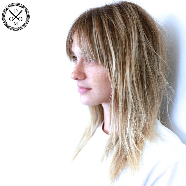 Cute Straight Bob Ombre Picture Of A Shoulder Length