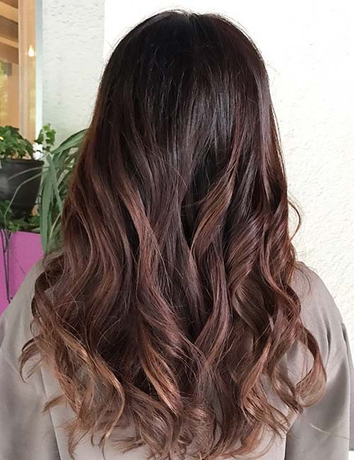 highlight styles for brown hair 30 brown hairstyles to rock this summer styles 7059