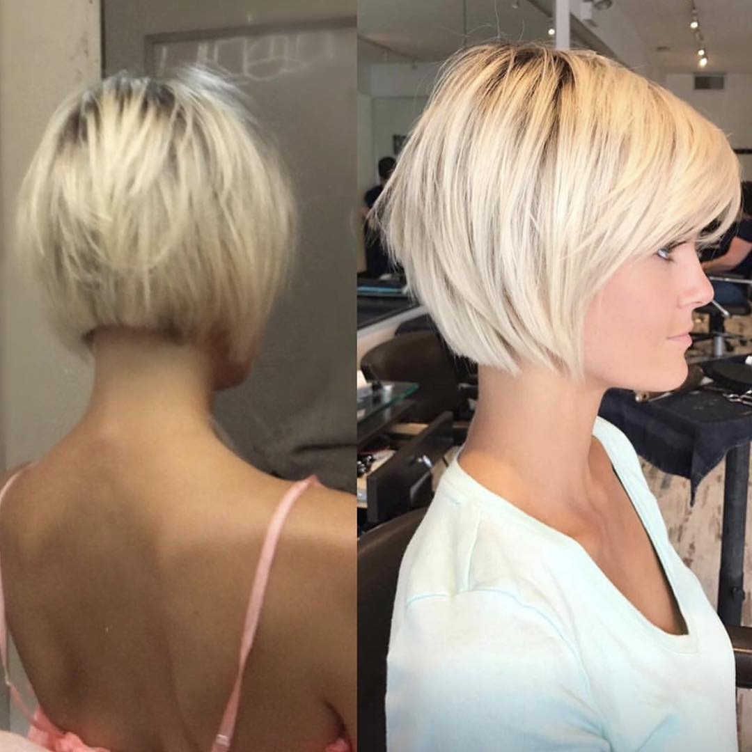 Celebrity hairstyles 2019 long bob with side