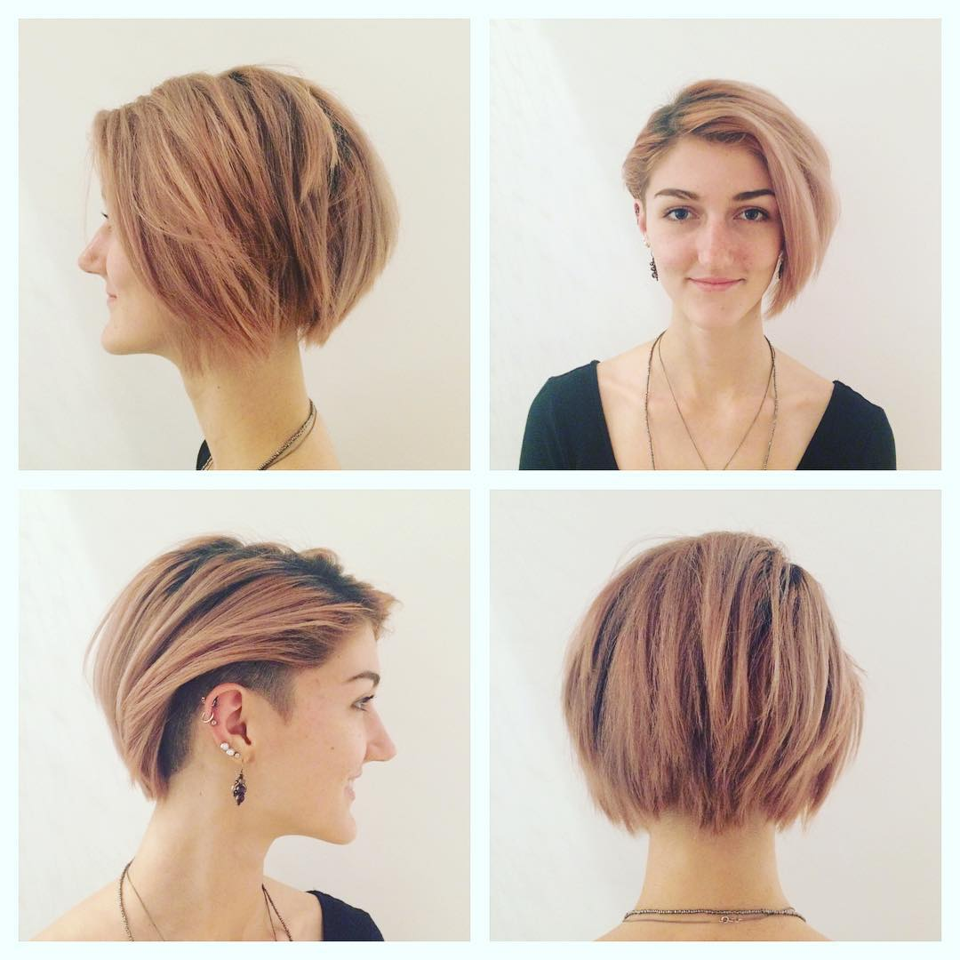 Short Undercut Bob Hairstyles Best Short Hair Styles