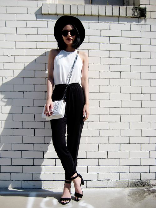 40 Ways to Make Black-and-White Work for You - Trendy outfit Ideas