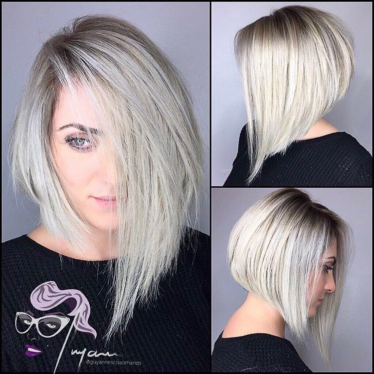 50 adorable asymmetrical bob hairstyles 2018 hottest bob haircuts 50 adorable asymmetrical bob hairstyles hottest bob haircuts winobraniefo Image collections