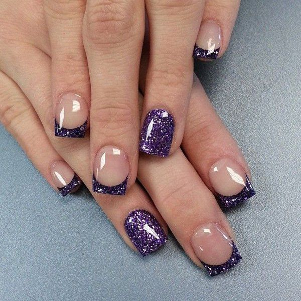 50 Amazing French Manicure Designs Cute French Nail Art Styles