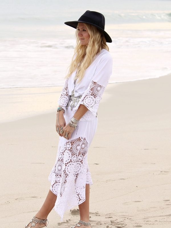 50 Boho Fashion Styles for Spring/Summer - Bohemian Chic Outfit Ideas
