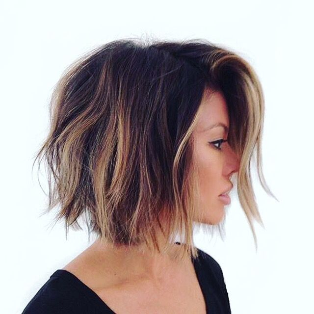 Layered Long Bob Hairstyles For Thick Hair 103