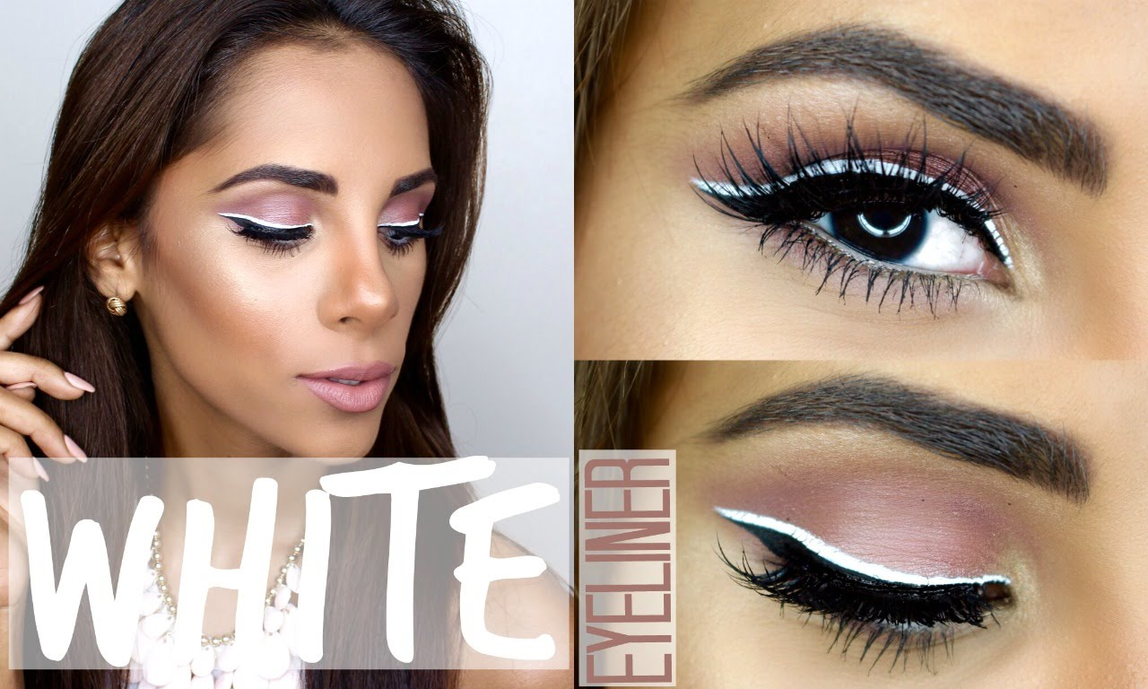 10 Hottest White Eyeliner Ideas