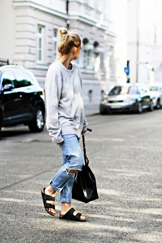 How to Style Birkenstocks