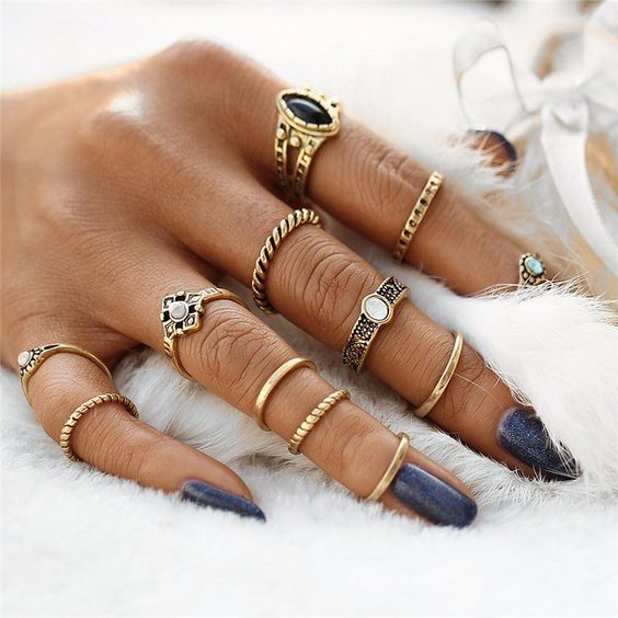 How to Rock a Ring on Every Finger